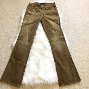 American Eagle Corduroy Pants size 4